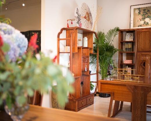 家具销售业务员家具厂迪欧杭州图片