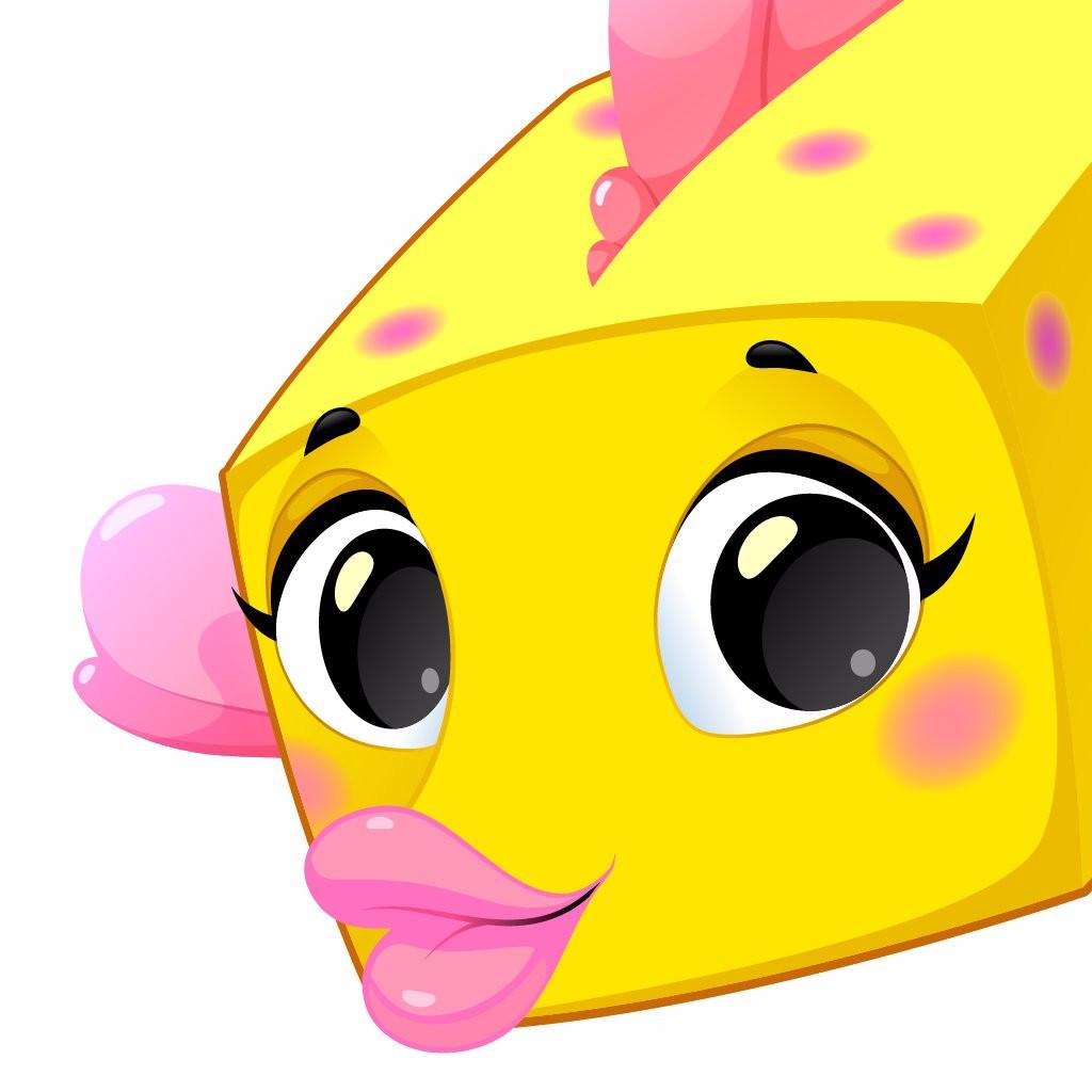 可爱鱼微信头像
