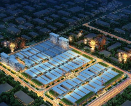 企业研发中心,商业配套等众多功能于一体;闽粤邻省地区规模最大,设计